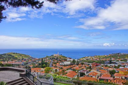 Panoramablick über die Funchal-Bucht