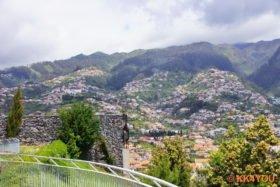 Panoramablick vom Pico dos Barcelos