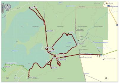 Pirschfahrt rund um Namutoni - Östlicher Teil des Etosha Parks