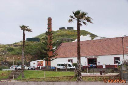 Zuckerrohrfabrik -Rum aus Madeira