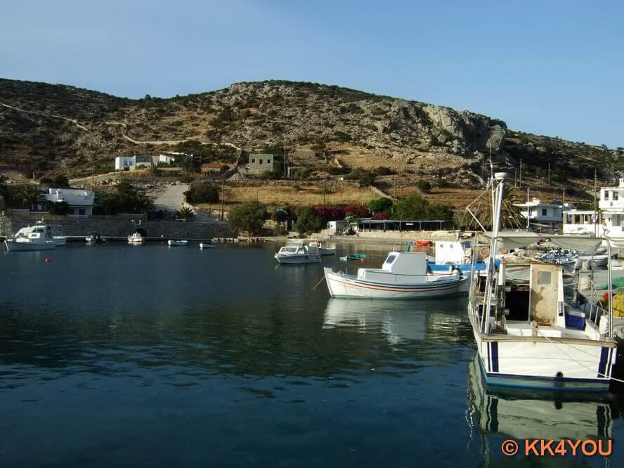 Hafen Ormos Myrsini