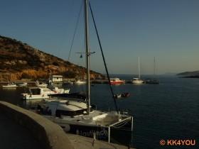 Schinoussa -Hafen Ormos Myrsini