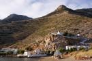 Sifnos -Kirche Agia Marina am nördlichen Ende der Bucht
