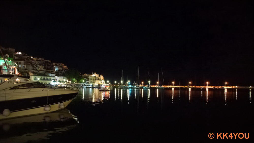 Hafen Skopelos