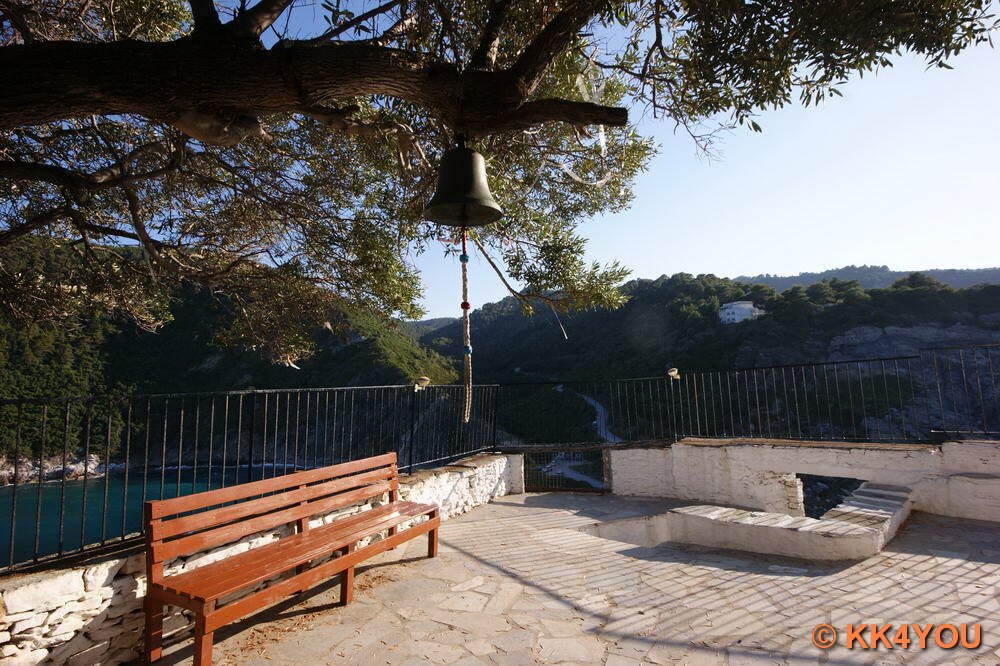 Vorplatz Kirche von Agios Ioannis