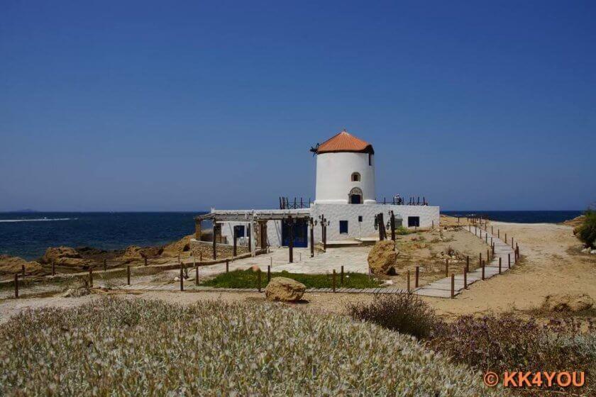 Windmühle am KapPouria