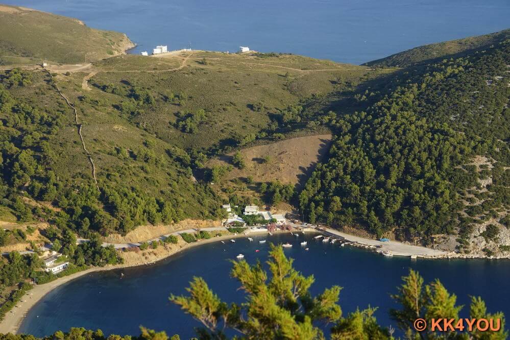 Aussichtspunkt bei der Kirche Agios Panteleimon