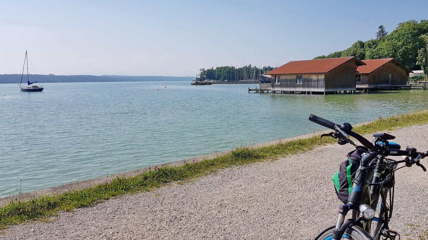 Radtour Starnberger See -Feldafing
