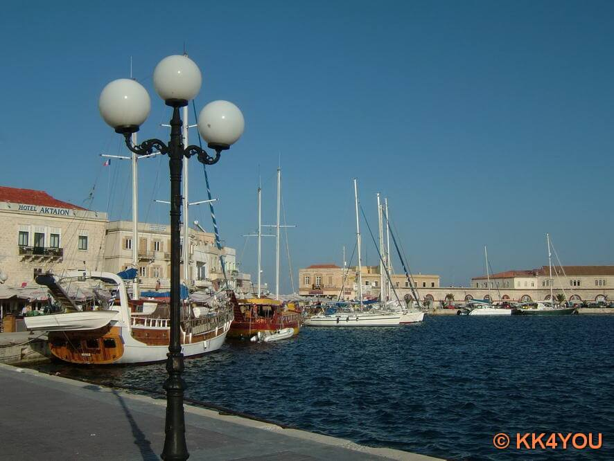 Hafen Ermoupoli