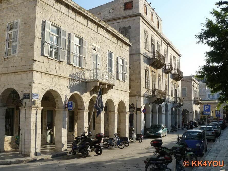 Hauptstadt Ermoupoli,  Verwaltungssitz der Präfektur der Kykladen