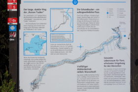 Radtour Taubertal zwischen Rothenburg und Weikersheim -Lehrpfad Schandtouber