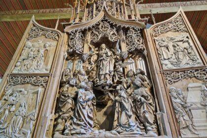Herrgottskirche -Marienaltar von Tilman Riemenschneider