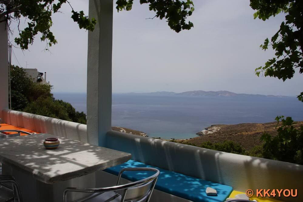 Tinos -Ausblick von Panormos