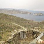 von Ormos Panormou Pfad ins Nirgendwo an der Nordküste