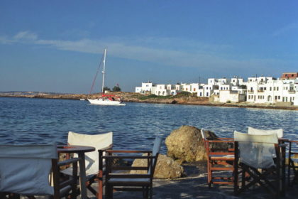 Törn Westkykladen: Paros-Naoussa