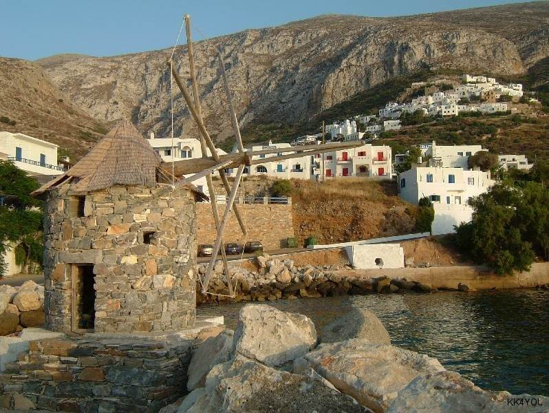 Amorgos Hafen Aegiali
