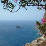 Amorgos Ausblick vom Kloster Chozoviotissa
