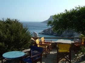 Amorgos -Beach von Kamari