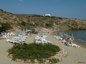 Meltemi, d.h. Landausflug in Amorgos -Maltezi Beach