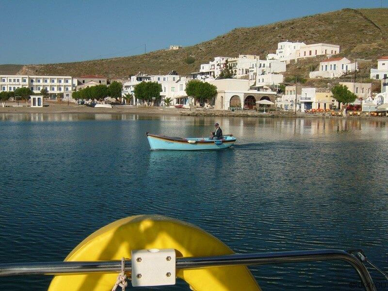 Kythnos Abschied vom Hafen