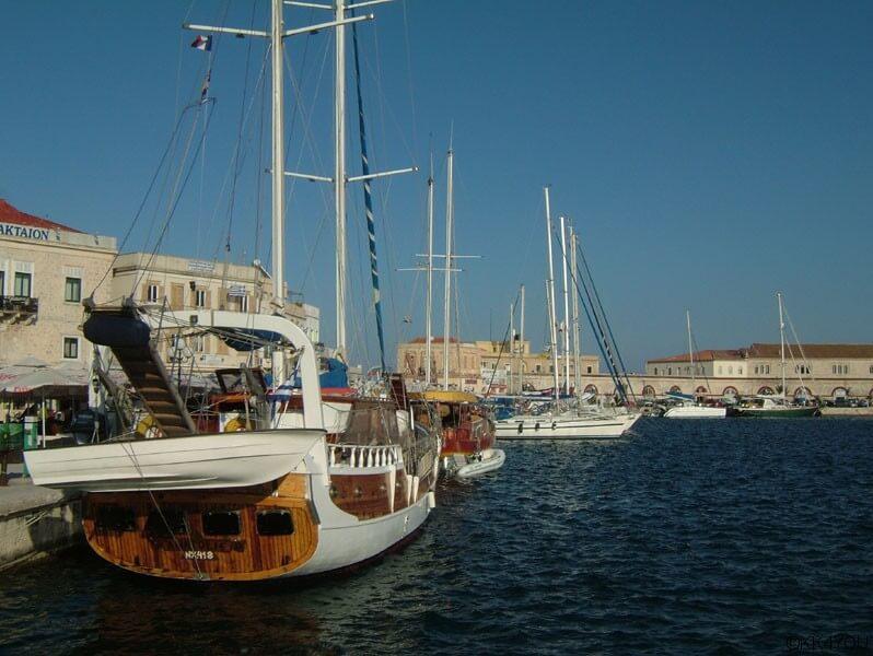 Syros -Hafen Ermoupolis