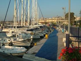 Abschied Hafen Lavrion
