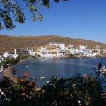 Kythnos -Hafen Mericha