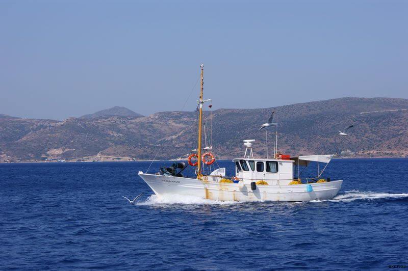 Küstenrundfahrt von Adamas bis Pollonia
