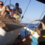 Törn südlichen Kykladen -Überfahrt von Milos nach Sifnos bei 4 bis 6 Bft