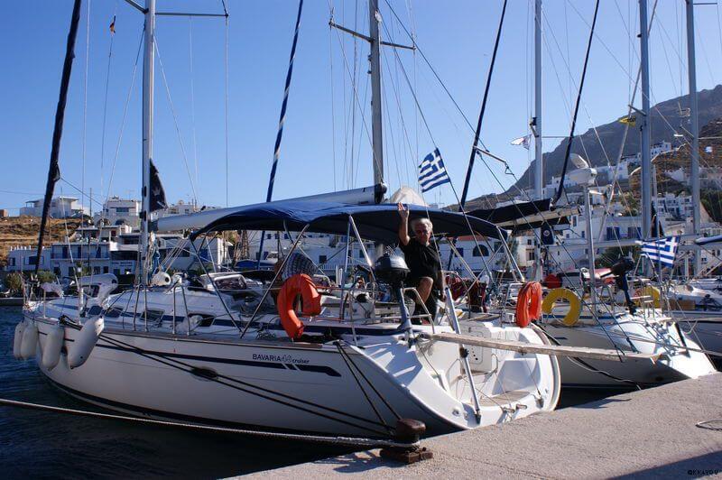 Serifos -Hafen Livadi