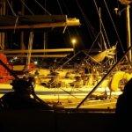 Serifos -Abendstimmung im Hafen Livadi