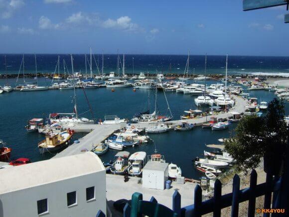 Santorin -Marina Vlychada