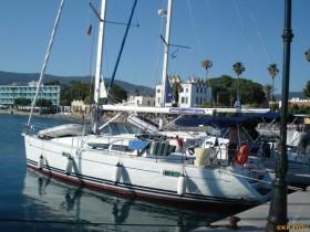 Kos -Kai in Bucht zwischen Hafen und Marina