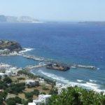Hafen Paloi auf Nisyros, sturmsicherer Schutz bei Meltemi