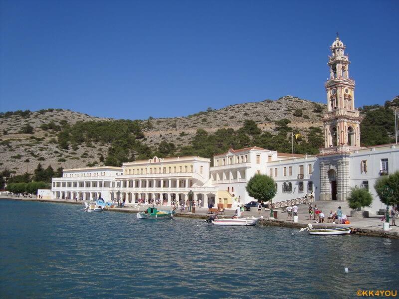 Symi -Klosteranlage Ormos Panormitis