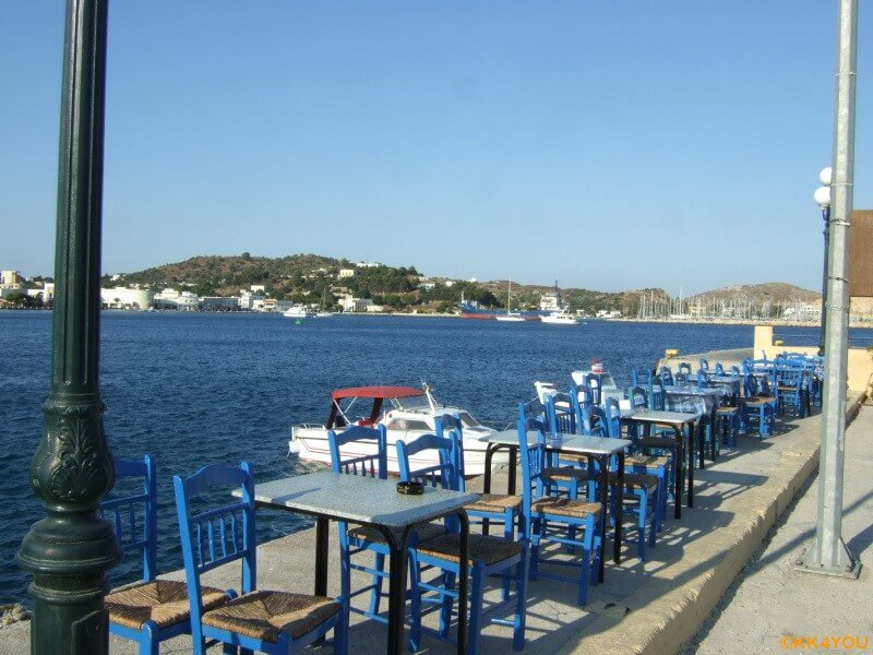 Leros -Hafen Lakki