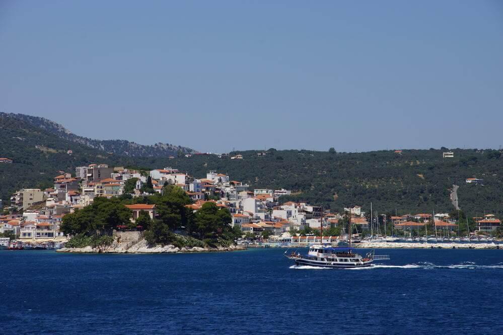 Bourtzi, kleine Halbinsel im Hafen