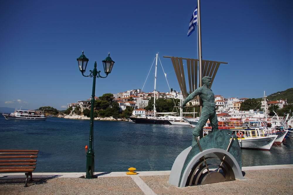 Hafen Skiathos
