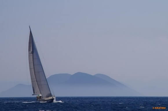 Ionisches Meer zwischen Korfu und Zakynthos