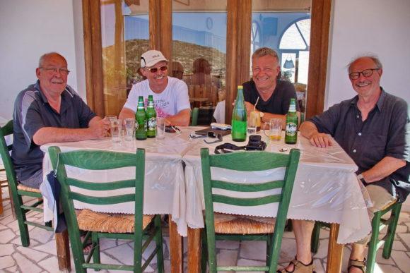 Crew vl. Eberhard, Klaus, Wolfgang, Jürgen