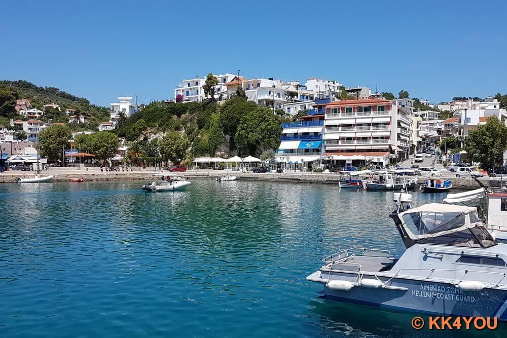 Nördliche Sporaden -Alonnisos -Hafen Patitiri