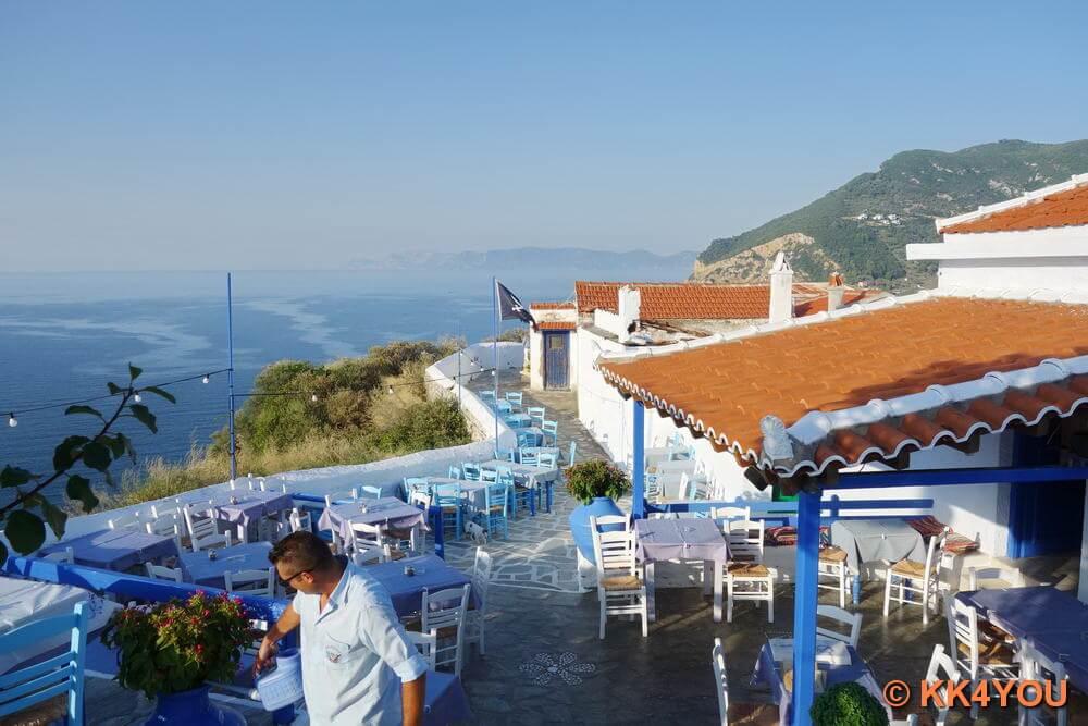 Skopelos Stadt