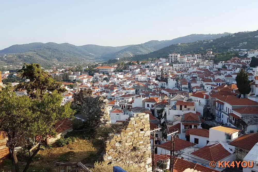 Nördliche Sporaden -Skopelos Stadt