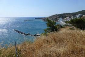 Blick auf die Bucht von Diafani