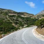 Straße von Diafani nach Olymbos