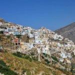 Karpathos -in rauem Seegebiet zwischen Kreta und Rhodos