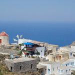 Karpathos -Blick von Olymbos