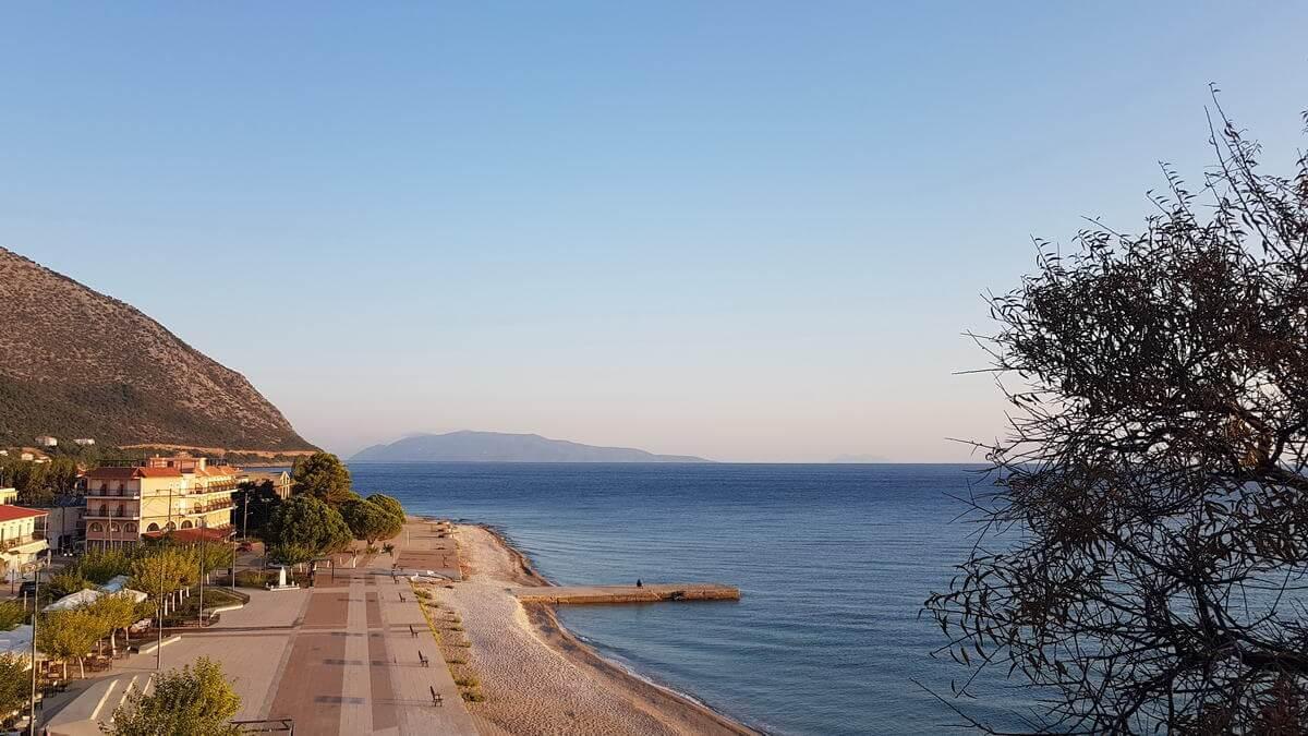 Strand von Poros