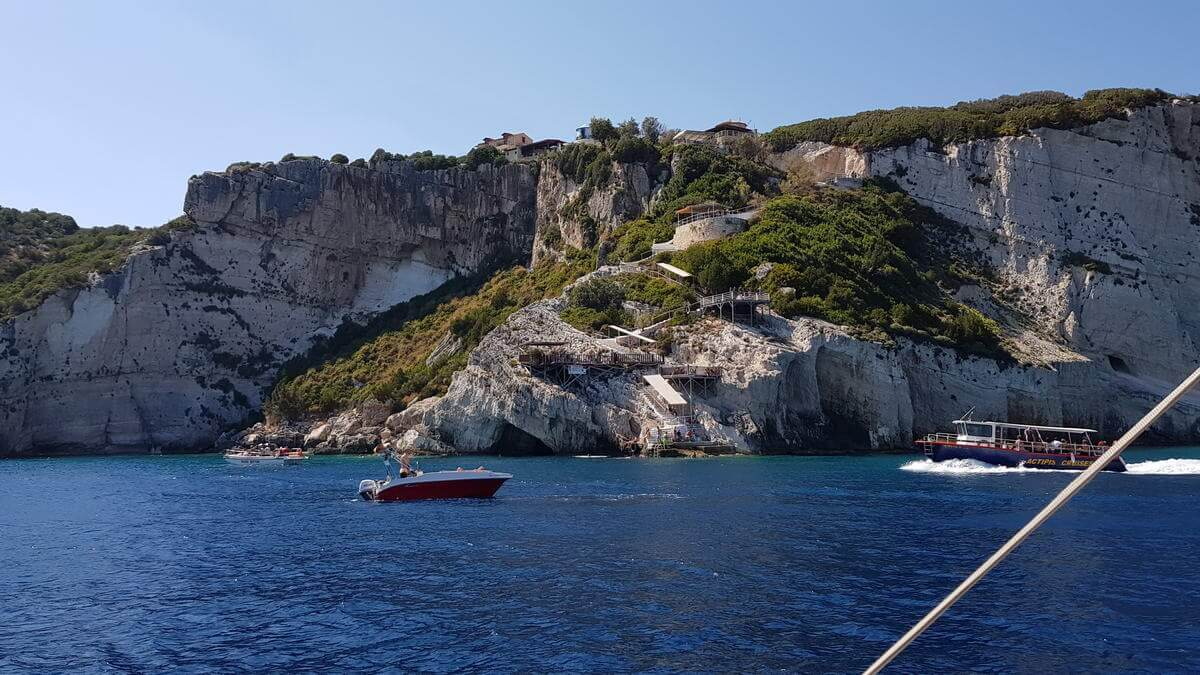 Zakynthos -Blaue GrotteZakynthos -Blaue Grotte