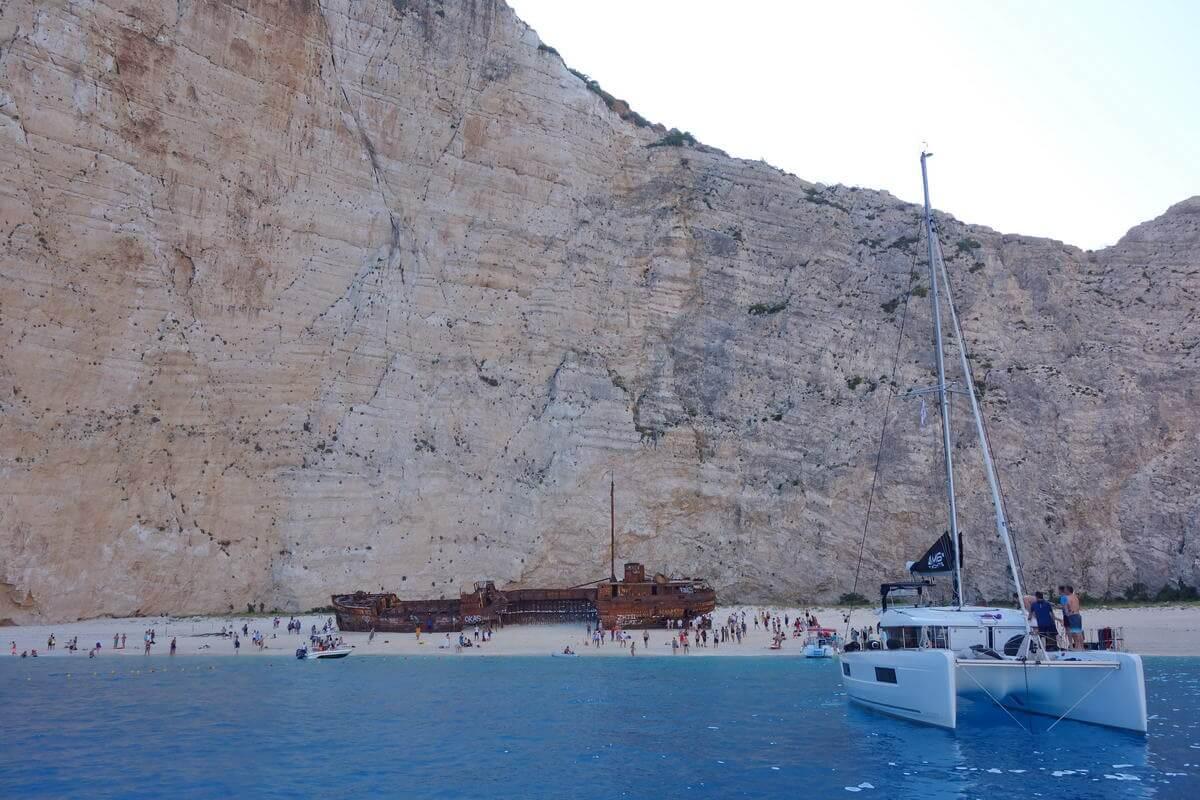 Zakynthos -Wrack Bay
